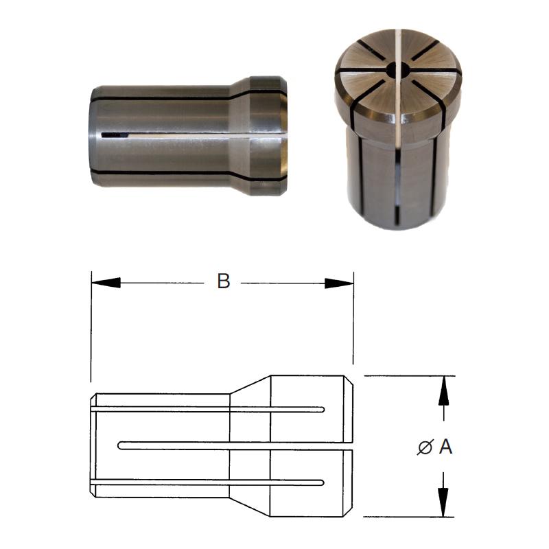 da-100-series-collets