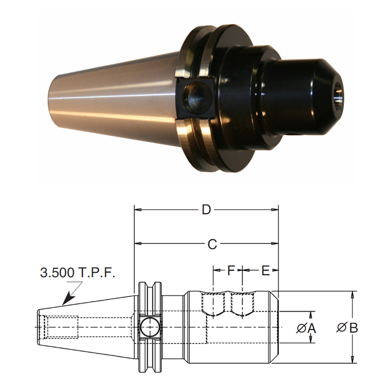 cat-40-end-mill-adapters-standard