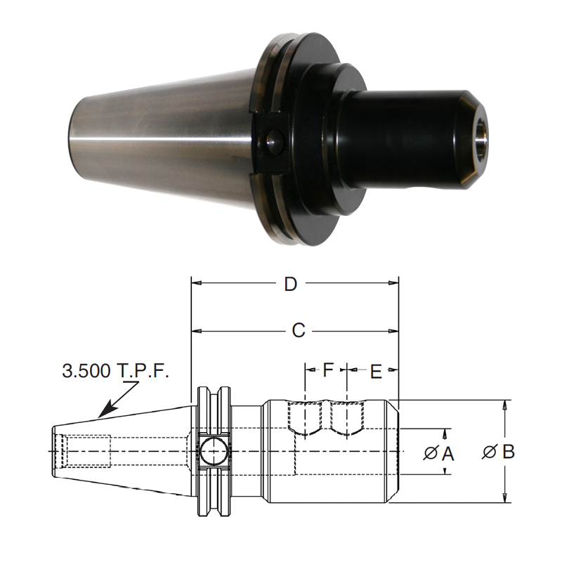 cat-50-end-mill-adapters