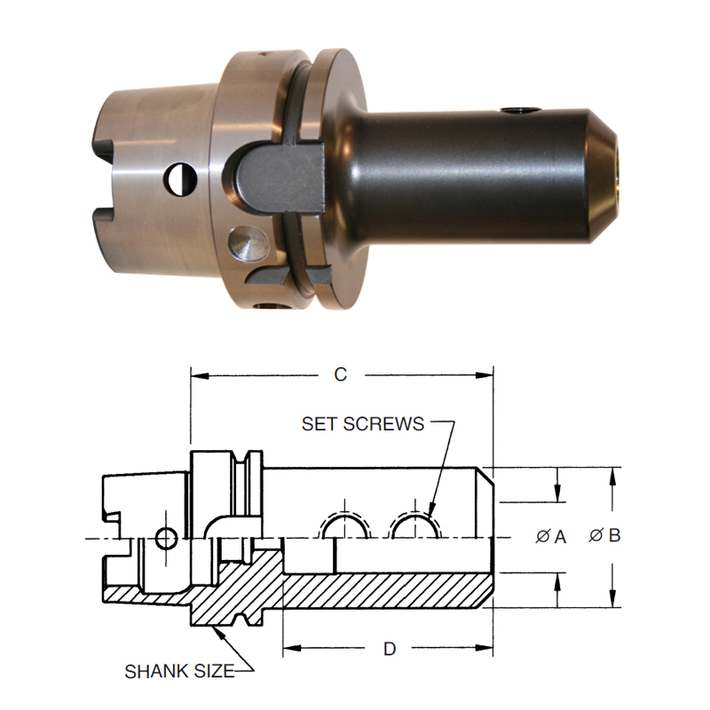 hsk-100a-end-mill-adapters